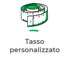 tasso personalizzato